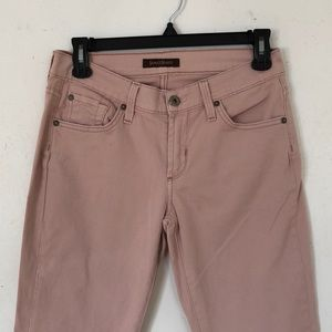 Millennial pink James jeans, perfect condition
